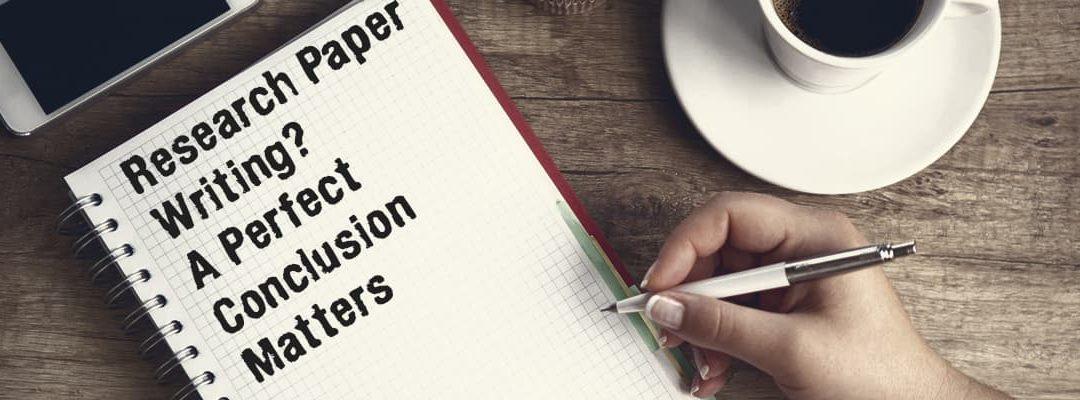Checklist To Write A Research Paper Conclusion