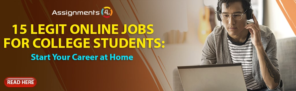 15 Legit Online Jobs for College Students: Start Your Career at Home