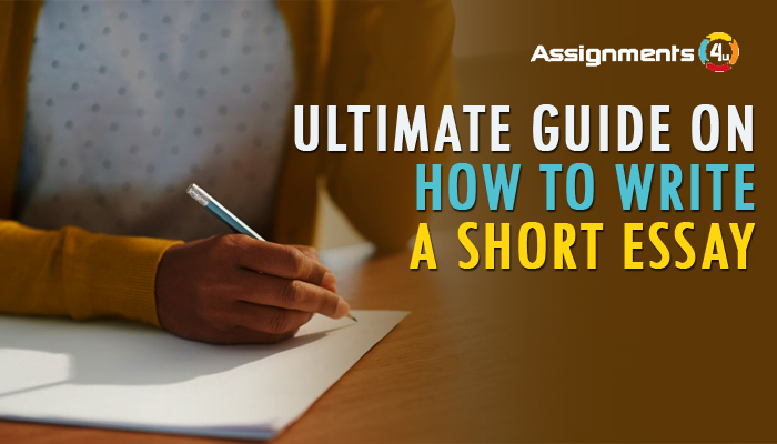 ltimate guide on how to write a short essay