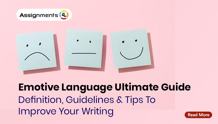 Emotive Language Ultimate Guide
