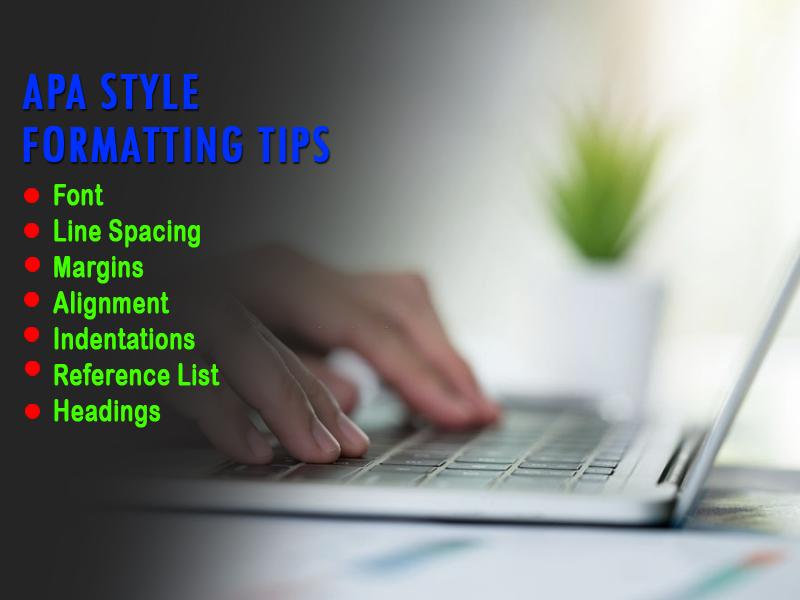APA style formatting tips